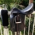 Prestige Dressage 2000 Saddle ~ Black Calfskin Leather~ 18 inches