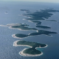 Islands in Adriatic Sea