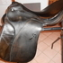 Passier Dressage Saddle, Black, size 17