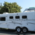 2010 Trails West Sierra 3 Horse Trailer with LQ's