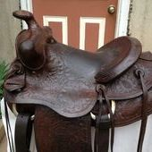 Buck Steiner 14in. ALL AROUND Saddle