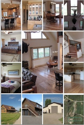 Pinedale, WY Custom home with Horse Property