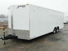 NEW 2016 Homesteader 8. 5 x 20 Patriot V-Nose Car Hauler w/ Rear ...