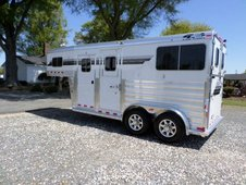 2014 4-star 2 Horse Straight Load Thoroughbred Trailer
