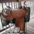 17 inch Dale Chavez Show Saddle Like New!