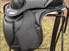 Hilason western treeless endurance pleasure trail saddle