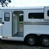 Aluminum Gore Ramp Load Horse Trailer in Beautiful Condition