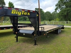 Big Tex 14GN 20'+5' Single Wheel Tandem Axle Gooseneck
