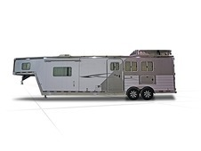 2014 Featherlite 8581 Living Quarters Horse Trailer — 24.420'