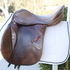 Jeffries Jumping/all-purpose Saddle Medium 17""