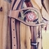 SHOWMAN HAND PAINTED BLING BRIDLE SET