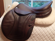 "Beautiful 17"" CWD Full Buffalo Saddle 2010 2L"