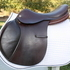 "Cliff Barnsby Diablo 17"" Jumping Saddle Wide"