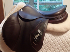 "Gorgeous 17.5"" CWD 2Gs Saddle 2015 2L"