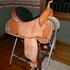 "15"" TEX TAN BARREL SADDLE"