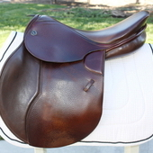 Kieffer Europe CT Jump Saddle Medium 17