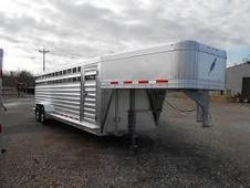 NEW 2015 Featherlite Gooseneck 16' Livestock Trailer