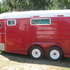 Re finished 1978 Hale 2 Horse Straight Load Bumper Pull horse Trailer