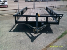 83 x 20 Heavy Duty Pipe Top Bumper Pull