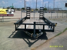 "83""x20' Heavy Duty pipe Top Bumper Pull"