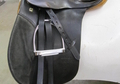 Black Stubben Siegfried VSD All Purpose English Saddle & Fittings Used