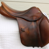 "County Innovation  XTR Jumping Saddle 17"" N"