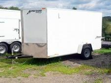 NEW 2015 Homesteader 6x10 Patriot V-Nose Enclosed Trailer w/ Ramp...