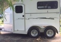 2007 Adam Featherlite 2 Horse Trailer