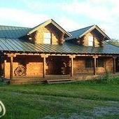Log Home on 10 Acres
