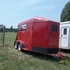 2012 Red Carry-On 2 horse trailer