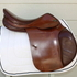 Prestige Red Fox Jump Saddle 34cm 17