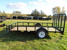 10ft x 6. 5ft Single Axle Utility