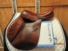 Stubben Edelweiss Used Close Contact Saddle 16.5