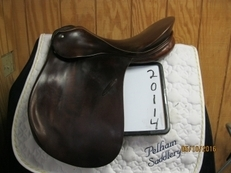 Passier PS Baum Used Dressage Saddle 17.5