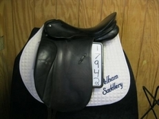 Passier Grand Gilbert * Used Dressage Saddle 17.5