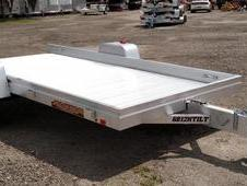 "NEW 2017 Aluma 5'8"" x 12 HD Tilt Trailer"