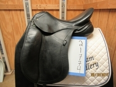 "Schleese Triumph Used Dressage Saddle 18"" W"