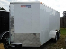 Texan Cargo 7x14 Tandem Axle w/Ramp Door