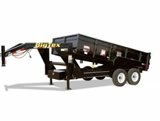 16' Big Tex Tandem Axle Dump Gooseneck Trailer