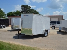 Texan Cargo 6x12 Single Axle w/Ramp Door