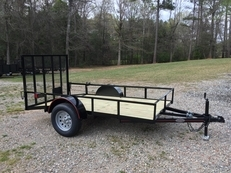 Deluxe 5ft X 10ft Utility Trailer w/15