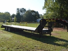 Big Tex 22GN Tandem Dual Gooseneck w/ Fold Up Ramps