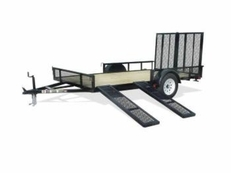Carry-On 12' Utility Trailers w/ Ramp Sides