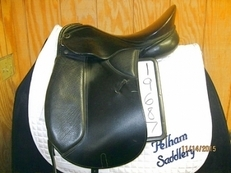 Kieffer Wien Used Dressage Saddle 16. 5