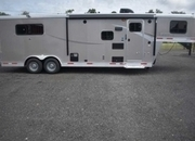 New 2019 Lakota Colt 8309 3 Horse Trailer with 9' Short Wall
