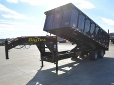 Big Tex Dual Tandem GN Site Contractor Dump Trailer