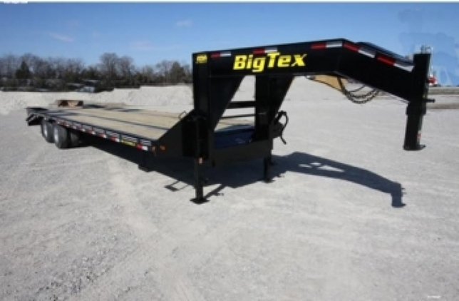 Big Tex Tandem Dual Axle Gooseneck Trailer