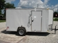 6x12 V-Nose Cargo Trailer  w/Ramp and Upgrades for sale in United States of America