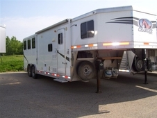 2012 Lakota 8309 Charger Horse Trailer