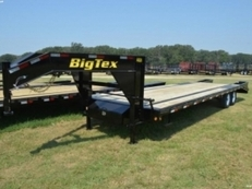 Big Tex Tandem Axle Gooseneck w/Mega Ramps
